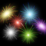 Firework set — Stock Vector