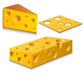 Conjunto de queso — Vector de stock