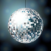Shiny disco ball — Stock Vector