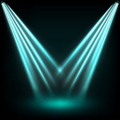 Reflector lights — Stock Vector