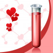 Love chemistry — Stock Vector