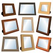 Royalty-Free Stock Immagine Vettoriale: Picture frame set