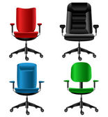 Office chair set — Stock Vector