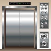Jeu de l'ascenseur — Vecteur