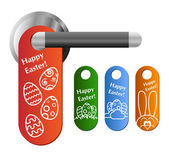Easter door hanger set — Stock Vector