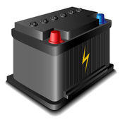 Car battery — Stockvector