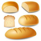 Bread set — Stock Vector