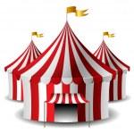 Circus tent — Stock Vector #26083261