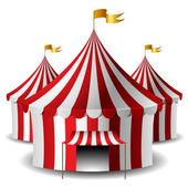 Circus tent — Stock Vector