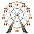 Ferris wheel — Stock Vector #26359677
