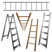 Ladder set — Stock Vector