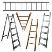 Ladder set — Stock Vector