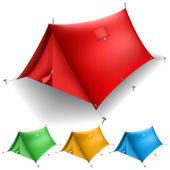 帐篷类 — 图库矢量图片