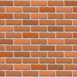 Stock Vector: Brick wall texture