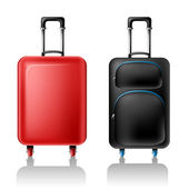 Two suitcases — Stock Vector