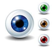 Eyeball set — Stock Vector