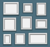 Picture frame set — Stockvector