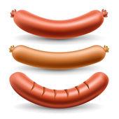 Sausage set — Stock Vector