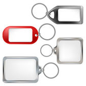Key ring set — Stock Vector