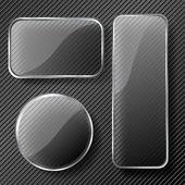 Jeu de trame de verre — Vecteur