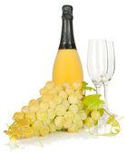 Wina i moszczu winogronowego — Zdjęcie stockowe