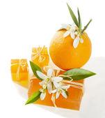 Soap orange — Stock Photo