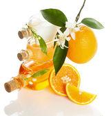 Cosmetics from orange — Stock Photo