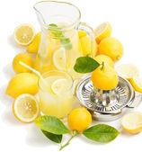 Juice of lemon — Stock Photo
