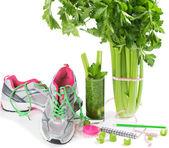 Celery diet — ストック写真