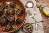 Roasted Artichokes — Stock Photo