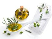 Olive Spa treatment — 图库照片