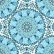Seamless pattern of Moroccan mosaic — Stock Vector