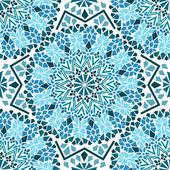 Wzór marokańskiego mozaiki — Wektor stockowy