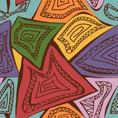 Streszczenie geometryczny wzór — Wektor stockowy
