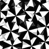 Top von sonnenschirmen nahtlose muster — Stockvektor