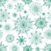 无缝模式的透雕雪花 — 图库矢量图片