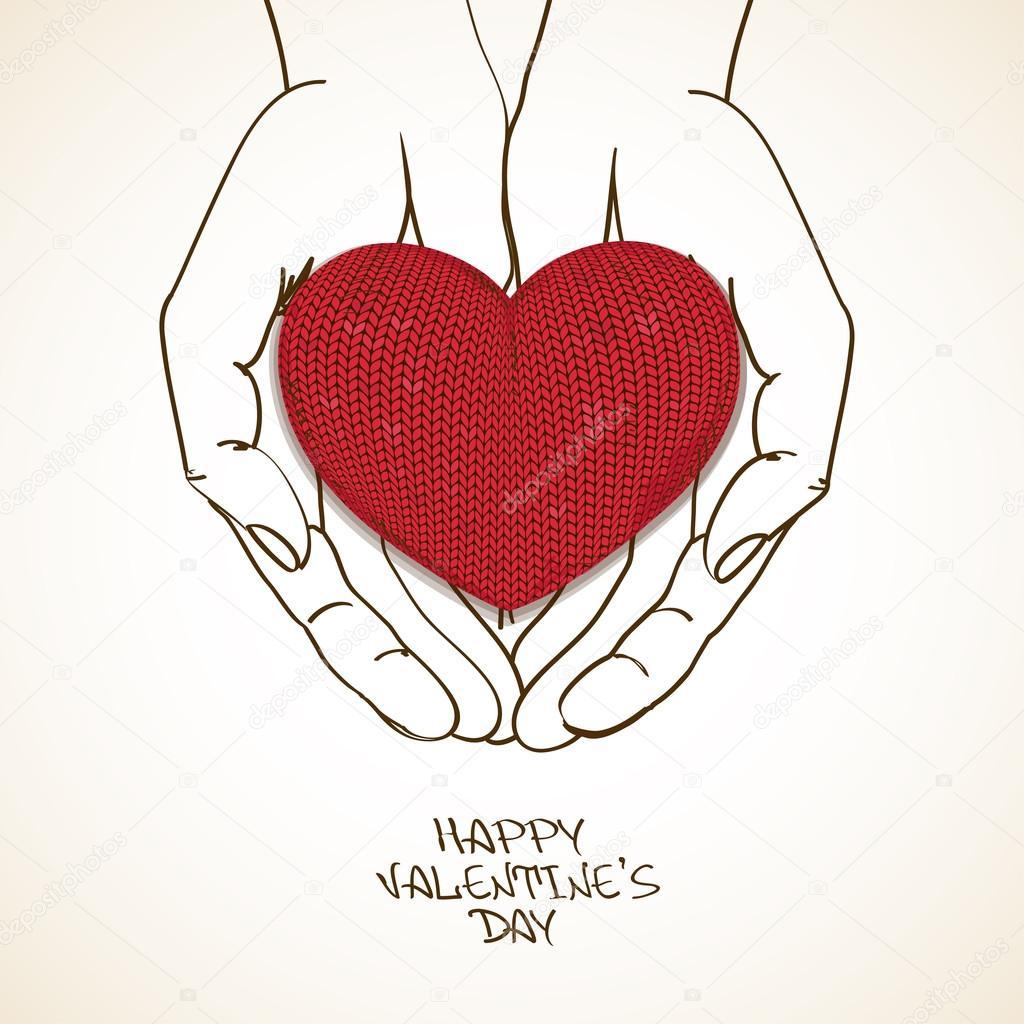 Рисунок сердца своими руками