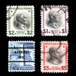Canceled Postage Stamps USA — Stock Photo #17845057