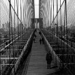 Royalty-Free Stock Photo: Brooklyn Bridge 1800s