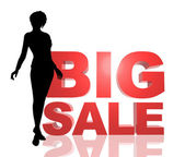 Illustration Big Sale — Stock Photo
