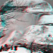 Stock Photo: NiagarFalls Cataracts 3D anaglyph