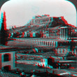 Stock Photo: Acropolis 3D anaglyph