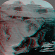 Stock Photo: Grand Canyon View Colorado 3D anaglyph