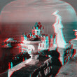 Stock Photo: Cliff House 3D anaglyph