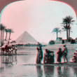 Stock Photo: Inundation of Nile