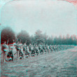 Stock Photo: Marines navy training 3D anaglyph military