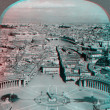 Stock Photo: City of rome from balcony