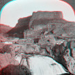 Stock Photo: Shoshone Falls Idaho 3D anaglyph