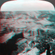 Stock Photo: Sentinel Point Yosemite 3D anaglyph