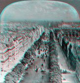 Champs elysses — Stock Photo